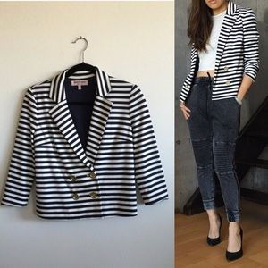 Juicy Couture Striped Blazer
